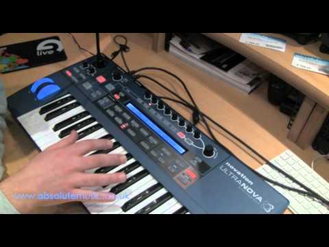 Absolute Music: Novation UltraNOVA Demo