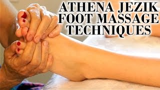 Athena Jezik Foot Massage Relaxation Techniques - Full Body Series 7 of 7 HD 60P ASMR