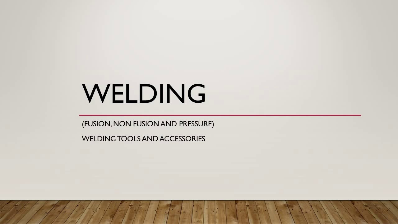 Iti Fitter Trade Theory Welding Introduction Tools Safety