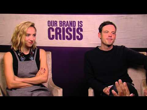 Our Brand Is Crisis: Zoe Kazan & Scoot McNairy Exclusive Interview