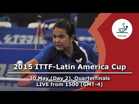 2015 ITTF-Latin America Cup - Quarterfinals