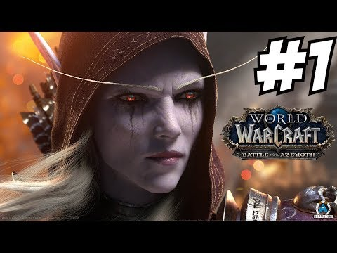 WOW BFA Gameplay Walkthrough Part 1 Horde burning Stormwind World of Warcraft Battle for Azeroth