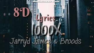 Jarryd James feat. Broods - '1000x' LYRICS + 8D AUDIO [USE HEADPHONE]🎧