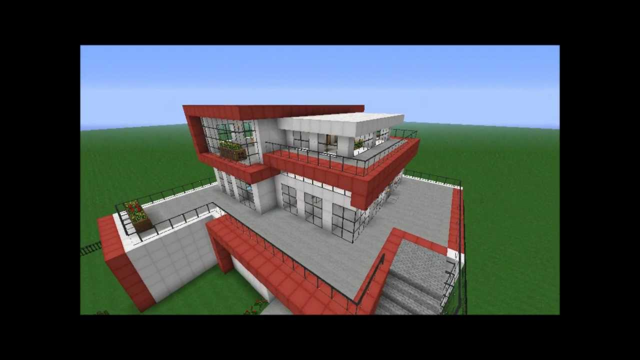Minecraft geb ude kleines modernes haus f r for Minecraft modernes haus download 1 7 2