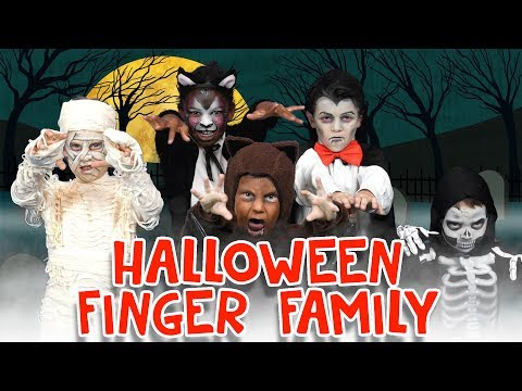 Finger Family Song - Halloween Edition | Two Little Hands TV | Nursery Rhyme