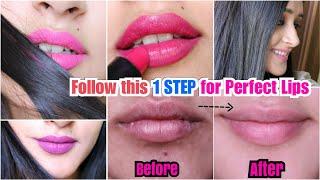 (100% Works) GET PINK LIPS + REMOVE DARKNESS AROUND MOUTH