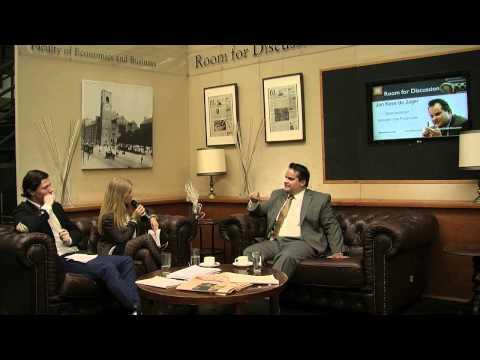 Jan Kees de Jager bij Room for Discussion (Universiteit van Amsterdam)