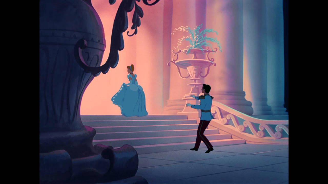 Cinderella And Her Carriage Cartoon