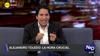 "Marco Vásquez: ""Toledo es la gran estafa política de este siglo XXI"""