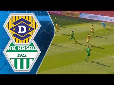 34.krog: Domžale - Krško 3:1; Prva liga Telekom Slovenije 2017/2018