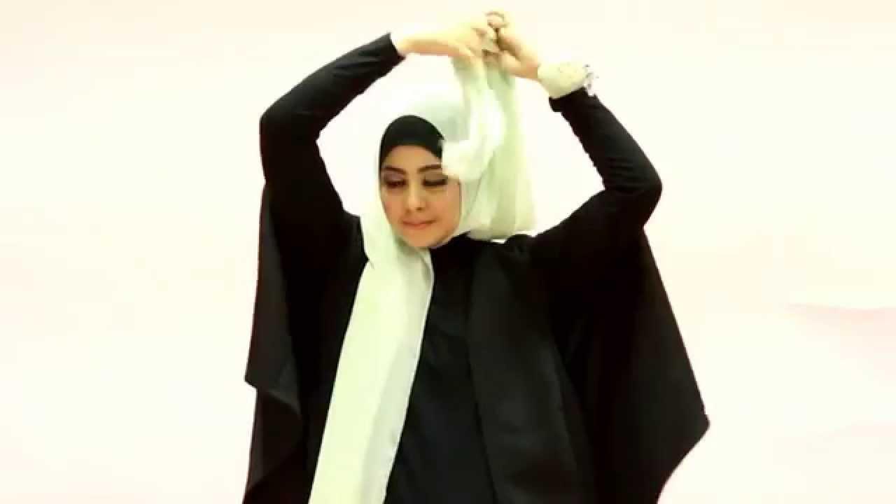 Tutorial Hijab Risty Tagor Cantik Ke Kantor YouTube