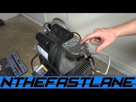 """Air Compressor Not Building Pressure?!? """"Free Fix"""""""