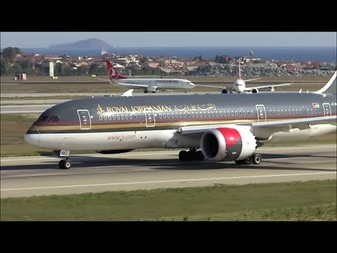 [HD] Action spotting from the FlyInn at Istanbul Ataturk Airport - 09/10/2015