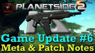 Planetside 2 - Game Update #6: Service Ribbons, Alert Missions, and the NS-15M! (04-03-13 Patch)