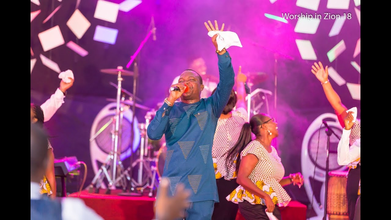 Download WORSHIP IN ZION 2018 AGBADZA MEDLEY (OH HEAVENLY KING) FT. EUGENE ZUTA