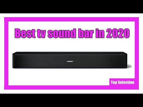 ✅  Best tv sound bar in 2020