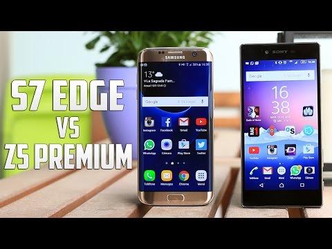 Samsung Galaxy S7 Edge vs Sony Xperia Z5 Premium