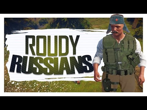 Roudy Russians - Rust Solo Survival