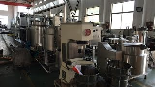 LATTEST TECHNOLOGY ADOPTED FOR JELLY CANDY PRODUCTION LINE, NEWLY DESIGNED GUMMY CANDY MAKING LINE