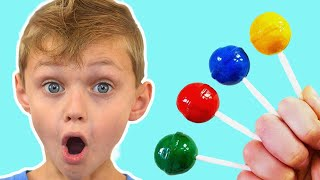 Canción de Color de la familia del dedo  | Canción Infantil | Canciones Infantiles con Dolguniki