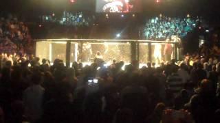 Rashad Evans Introduction at UFC 108