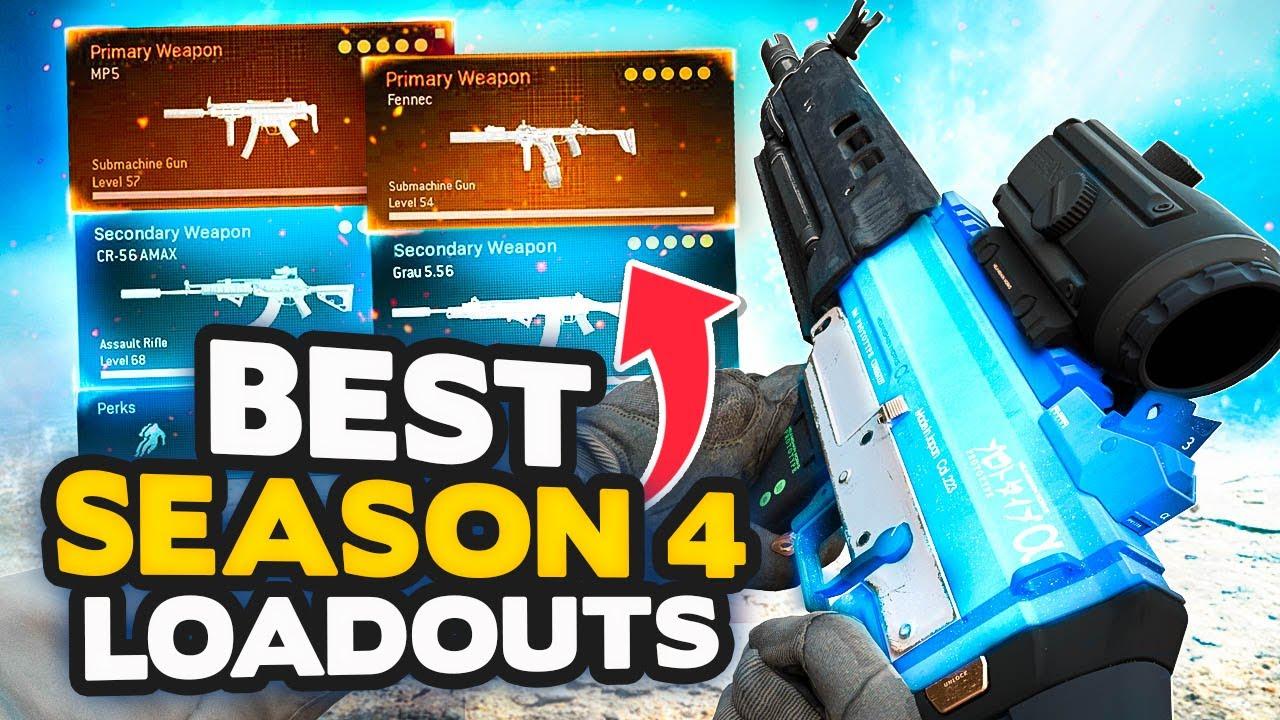 Warzone Season 4 Top 10 Best Loadout Class Setups Modern Warfare Tips Youtube