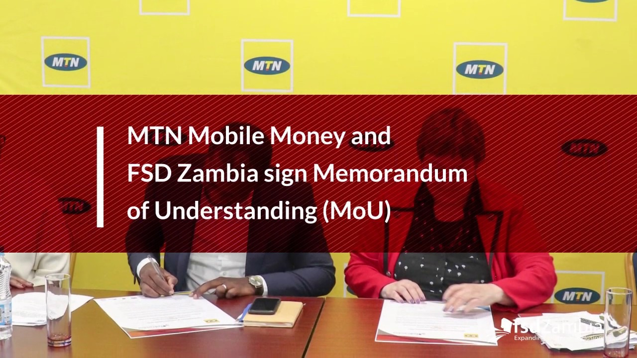 Enhancing Financial inclusion for Women and Youth (MoU with MTN Mobile  Money)