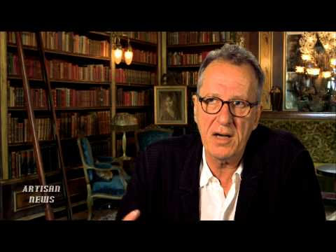 GEOFFREY RUSH SAYS DEATH, POINT OF VIEW, INSPIRED INVOLVEMENT IN THE BOOK THIEF