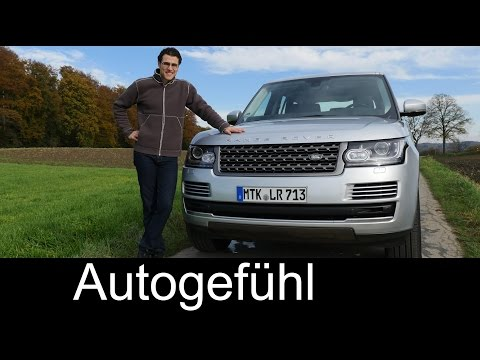 The Range Rover FULL REVIEW test driven L405 - Autogefühl