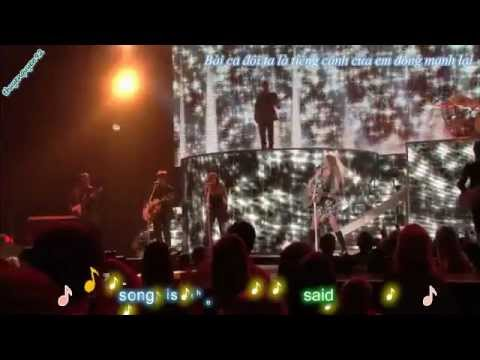 [Vietsub] Our song - Taylor Swift Fearless Tour 2010 (Live) {thuyenquyen92}