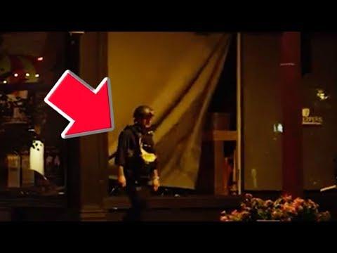 Cop Breaks Window During Protest?