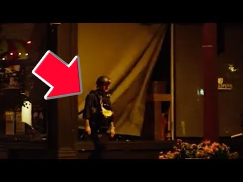 Cop Breaks Window During Protest?