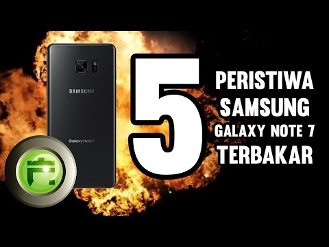 FLASH TOP 5: Peristiwa Terbakarnya Samsung Galaxy Note 7