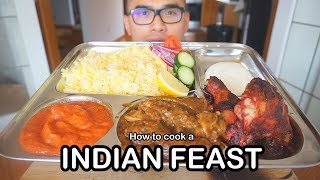 How to cook an INDIAN FEAST