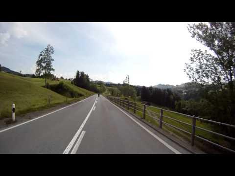 Stein Hundwil Herisau mit dem Motorrad