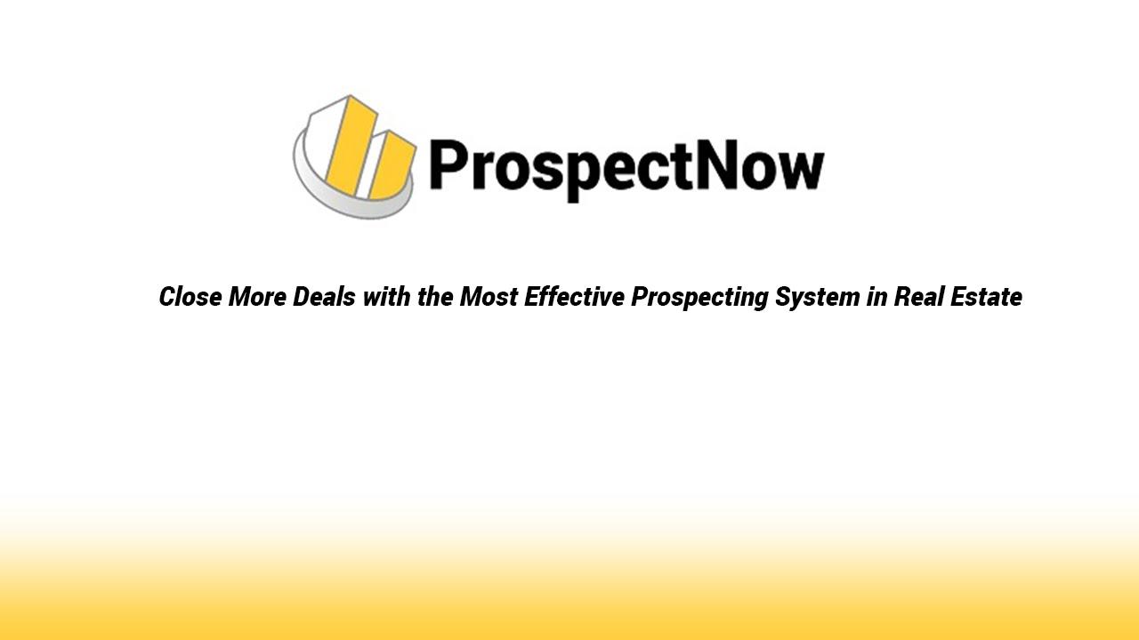 ProspectNow Demo