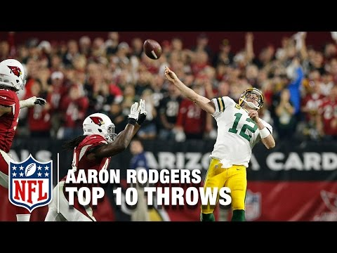 Top 10 Aaron Rodgers Playoff Throws | NFL Highlights