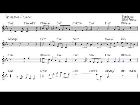 "Trumpet jazz Improvisation lesson - Beginner Level - ""Bossanova to Sahara"" instrumental"