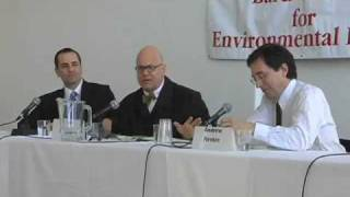 3) Higher Education and Sustainability: Leon Botstein and Andrew Revkin