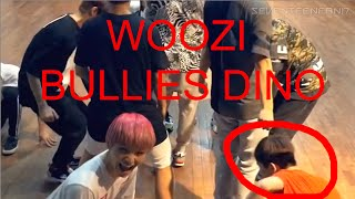 [Woozi Bullies Dino] What you don