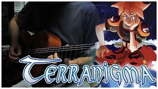 Terranigma - European Town (acoustic guitar cover by Josiah Everhart)