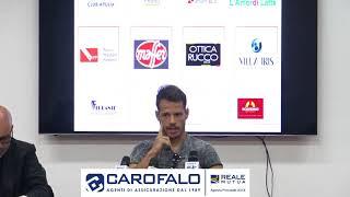 U.S. Lecce: Conferenza di Pedro Costa Ferreira 27-10-2017