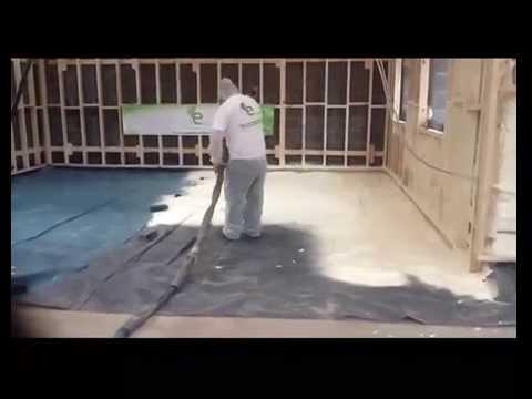 Floor Spray Foam Insulation U Value Spray Foam Youtube