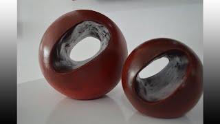 Esferas Decorativas Gigantes con Hueco-Esferas gigantes com oco-Giant Decorative spheres with hollow