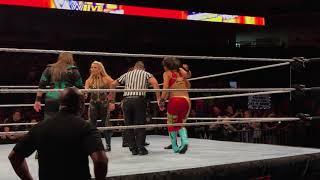 Rowdy Ronda Rousey in WWE 10 woman tag