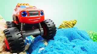 Мультики для детей про машинки — Вспыш и чудо-машинки — Видео для детей: играем в полицейских