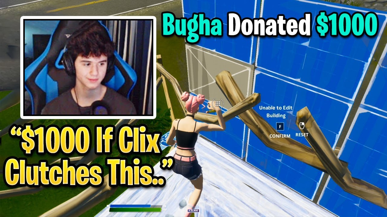 Bugha Reacts To Clix DESTROYING Everyone With Ease in FNCS (Fortnite)