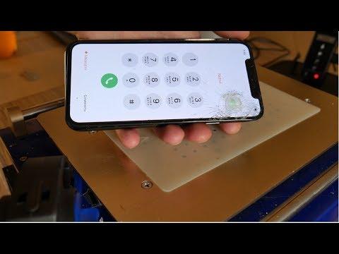 Iphone X - Переклейка стекла. Очень интересный случай. Ч.1