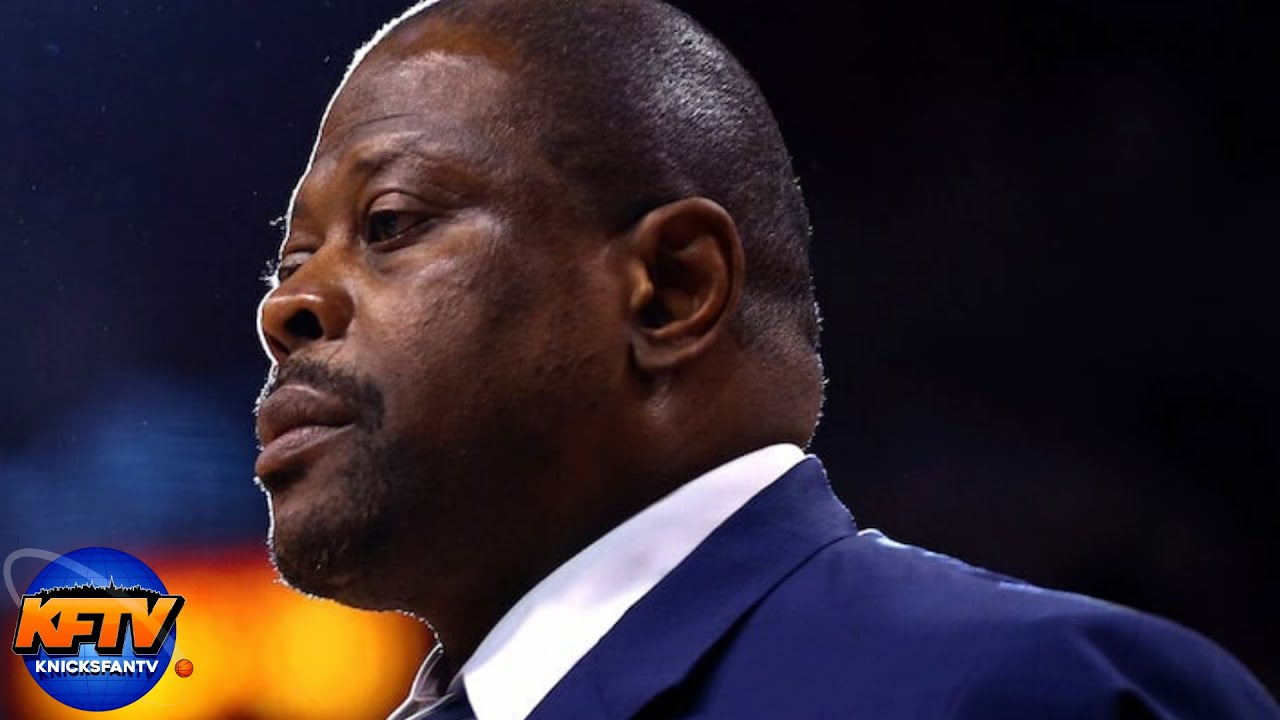 Breaking New York Knicks News: Patrick Ewing Tests Positive For The Coronavirus