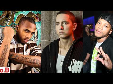 B.o.B ft. Eminem & Lupe Fiasco - Sing for the moment (Airplanes remix)